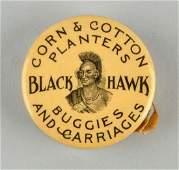 Blackhawk Corn, Planters & Carriages Tape Measure.