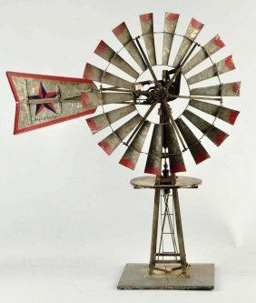 Early Flint & Walling Windmill Salesman Sample.