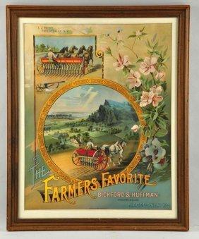 Dickford & Huffman Farmer's Favorite Poster.