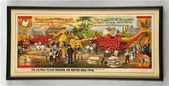 Aultman Taylor Thresher Advertising Poster