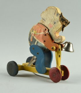 Fisher Price Paper On Wood No. 110 Chubby Chief.