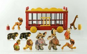 Fisher Price Paper On Wood No. 250 Circus.