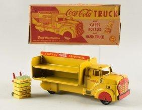 Marx Steel Coca-cola Truck.