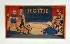 Marx Tin Litho WindUp Scottie Toy Dog