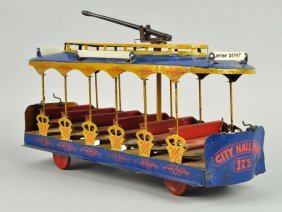 Early American Made Converse Union Depot Trolley.