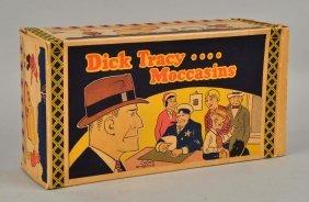 Dick Tracy Moccasin Original Box.