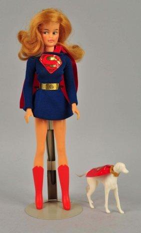 Scarce Ideal Supergirl & Superdog.