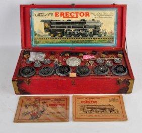 Gilbert Erector No. 8 20th Century Hudson Engine.