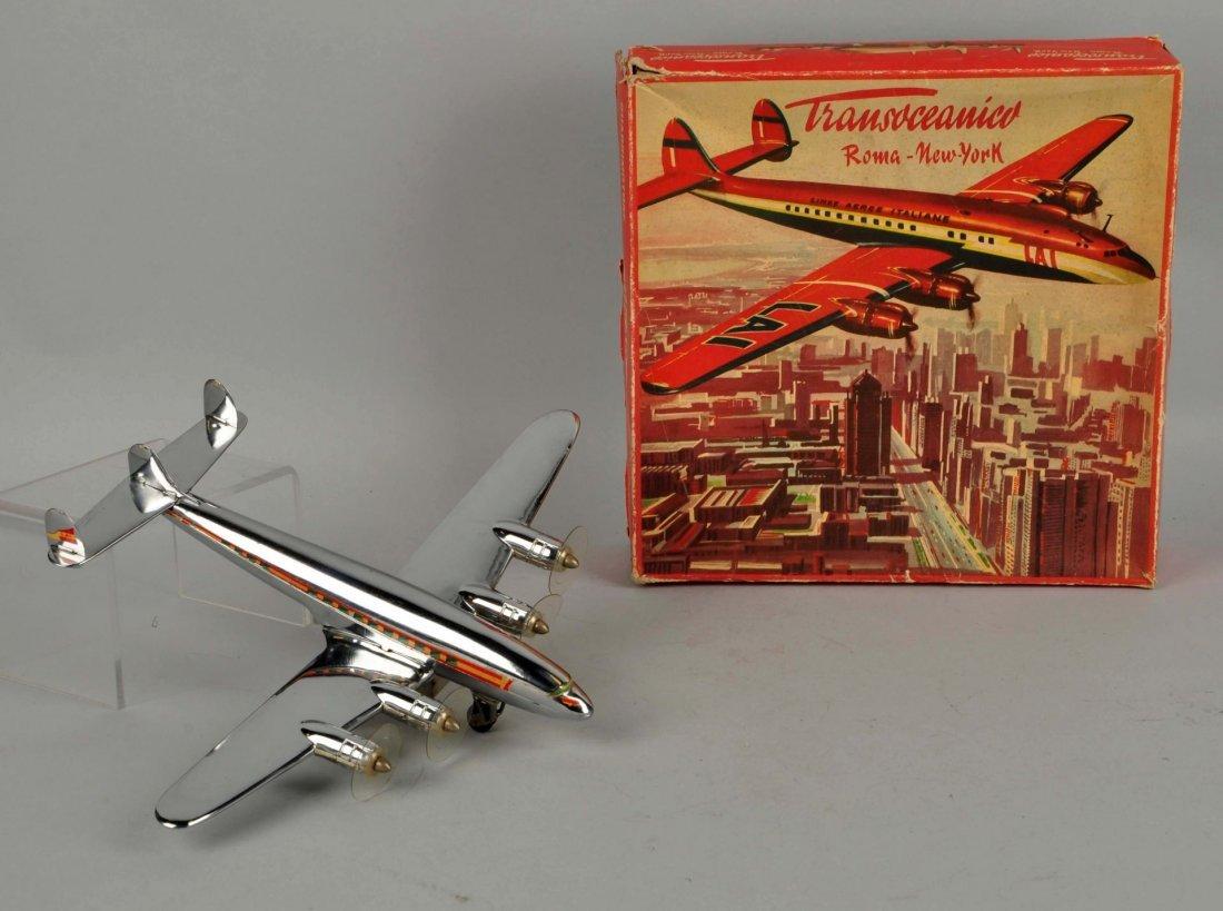 Italian Ingap Friction Airplane Toy.