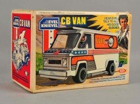 Ideal Evel Knievel Cb Van.