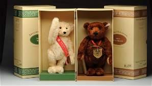 Two Limited Edition Steiff Teddy Bears