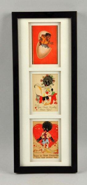 Black Americana Framed Cards.