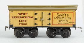 Bing 1- Gauge Swiss Premium Hams Box Car.