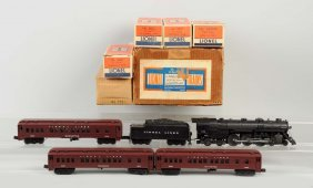 Lionel 2148 Hudson Set With Madison Cars.