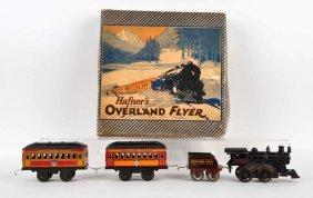 Hafner's Overland Flyer Train Set.