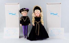 Lot Of 2: Mib 1990's Vinyl Mary Hoyer Dolls.