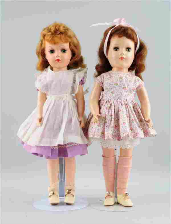 Lot Of 2: 1950's H.P. Mary Hoyer Dolls.