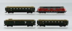 Grouping Of Marklin Passenger Cars.