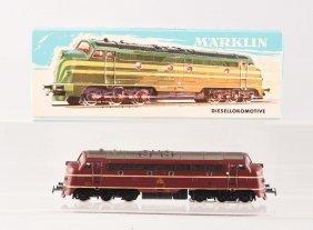 Marklin #3067 Diesel Locomotive.