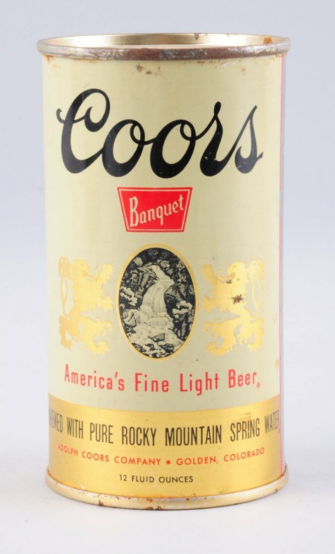 Coors Light Can.
