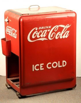 Large Coca-cola Cooler.