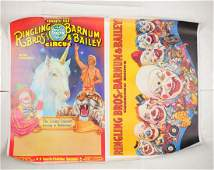 Lot Of Ringling Bros Circus Posters