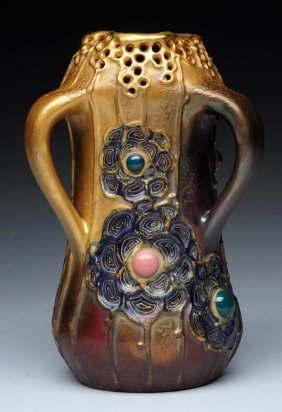 Amphora Ceramic Grès- Bijouthree Handled.