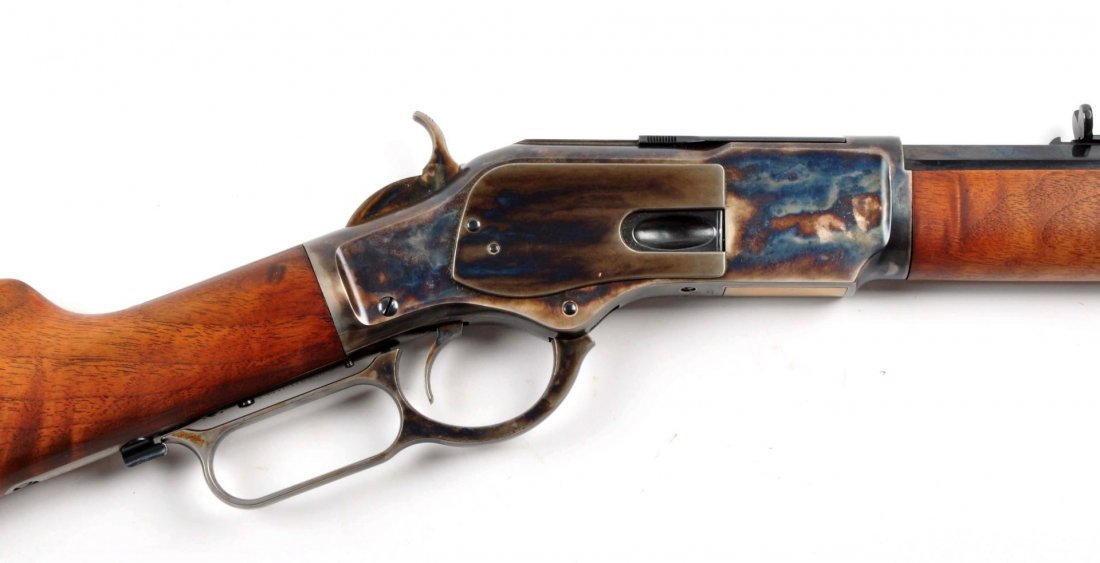 (M) Uberti Model 1873 Winchester Rifle. - 6