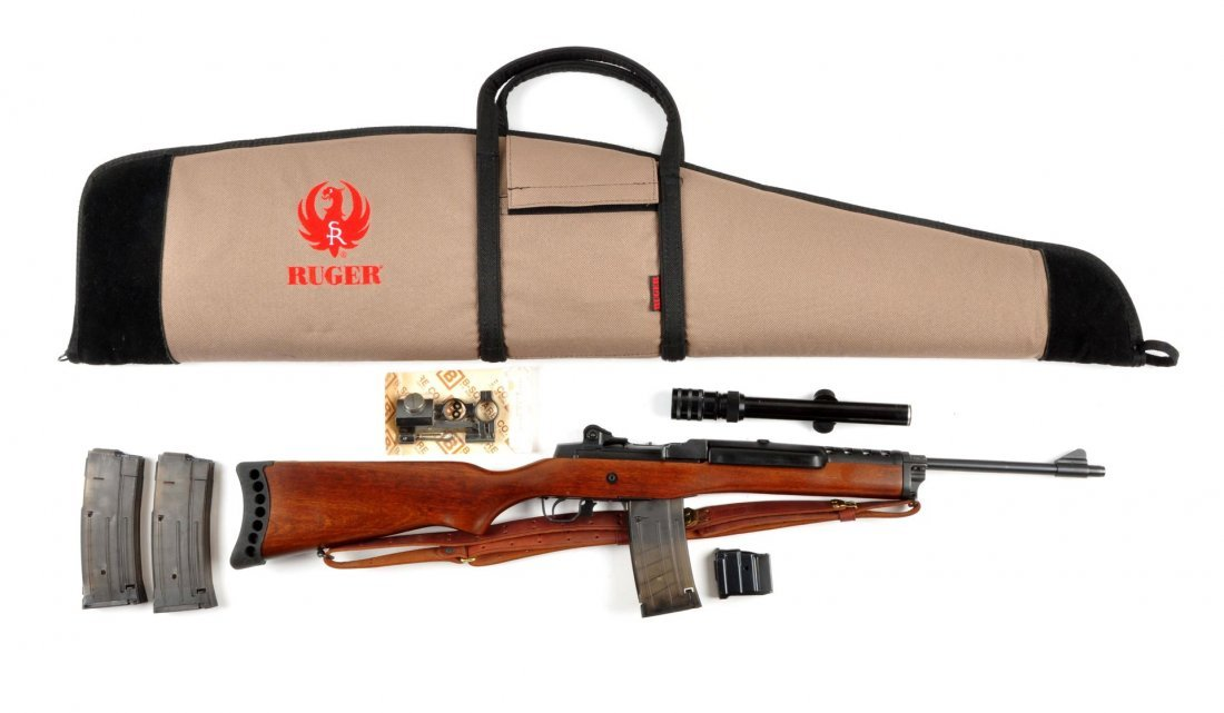 (M) Ruger Mini-14 Semi-Automatic Rifle.