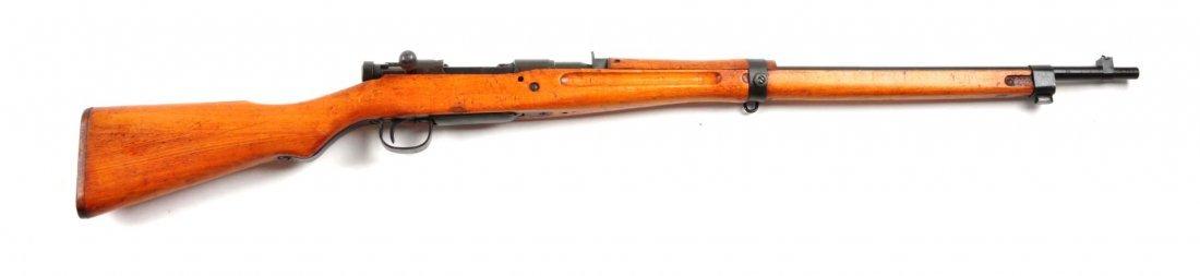 (C) Japanese Type 99 Bolt Action Rifle.