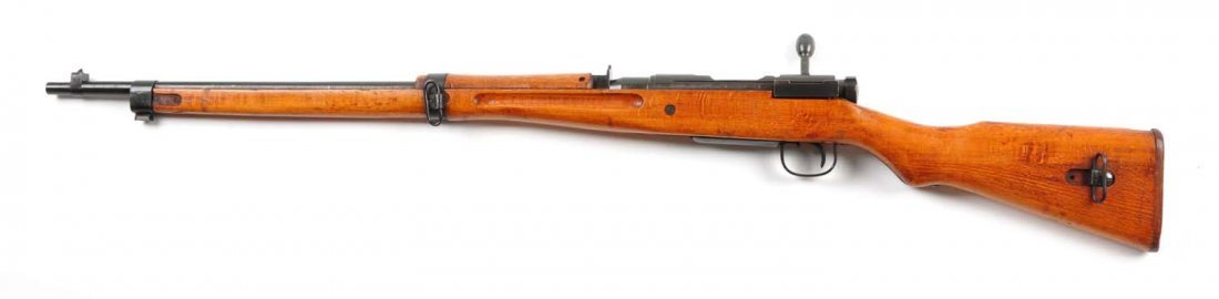 (C) Japanese Type 99 Bolt Action Rifle. - 3
