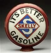 Skelly Gasoline NonFired 15 Globe Lenses