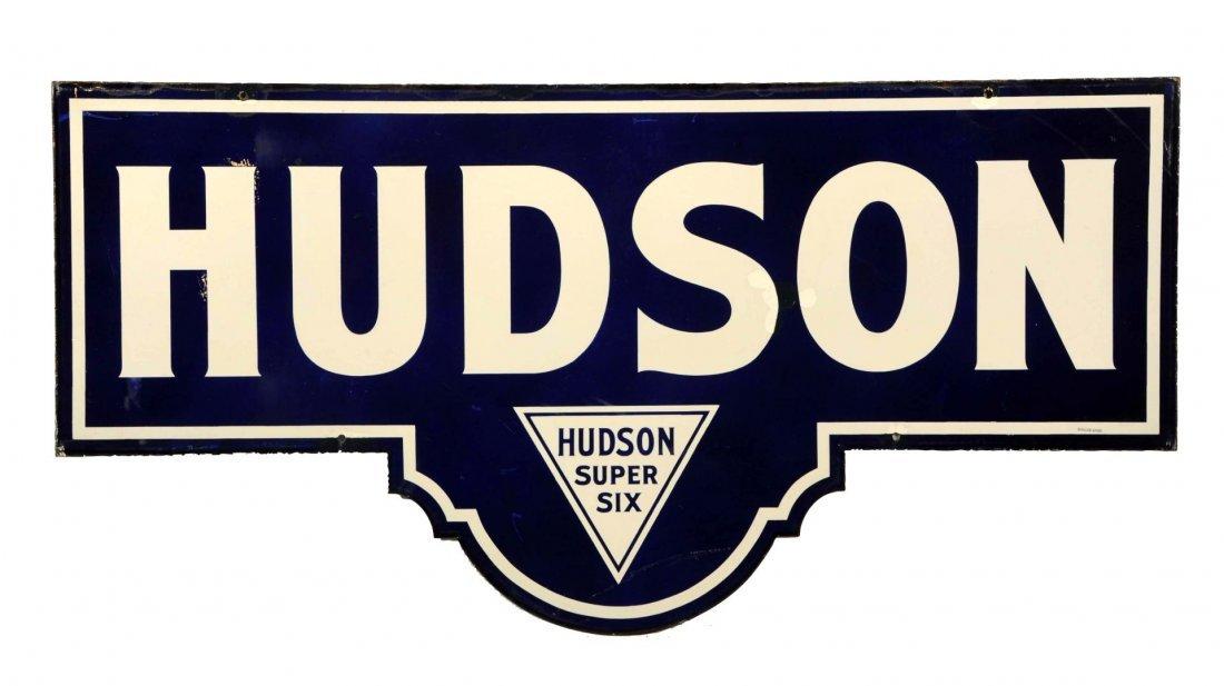Hudson Essex Super Six Diecut Sign-Cleared.