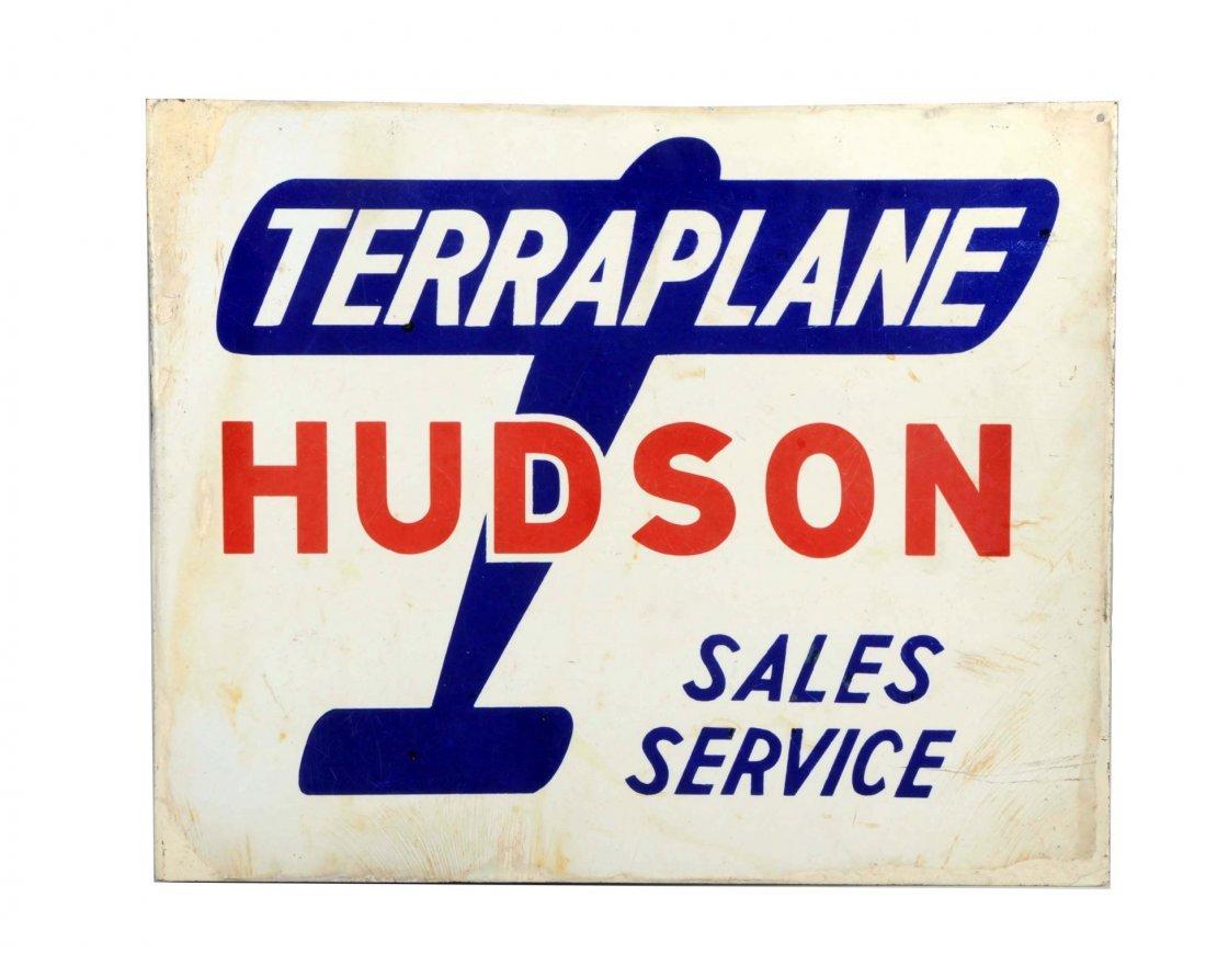 Hudson Terraplane Sales & Service Sign.
