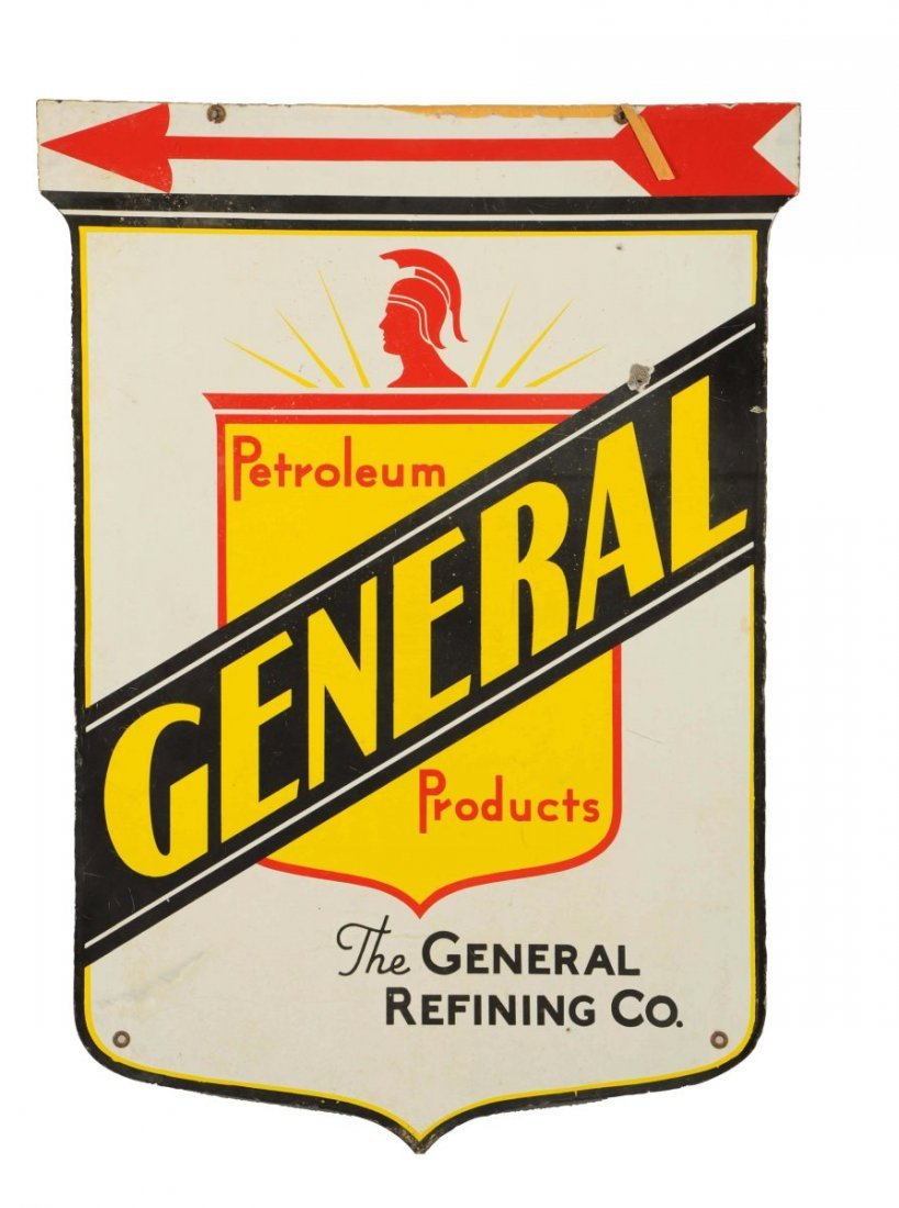 General Petroleum Products w/ Shield Logo Sign.