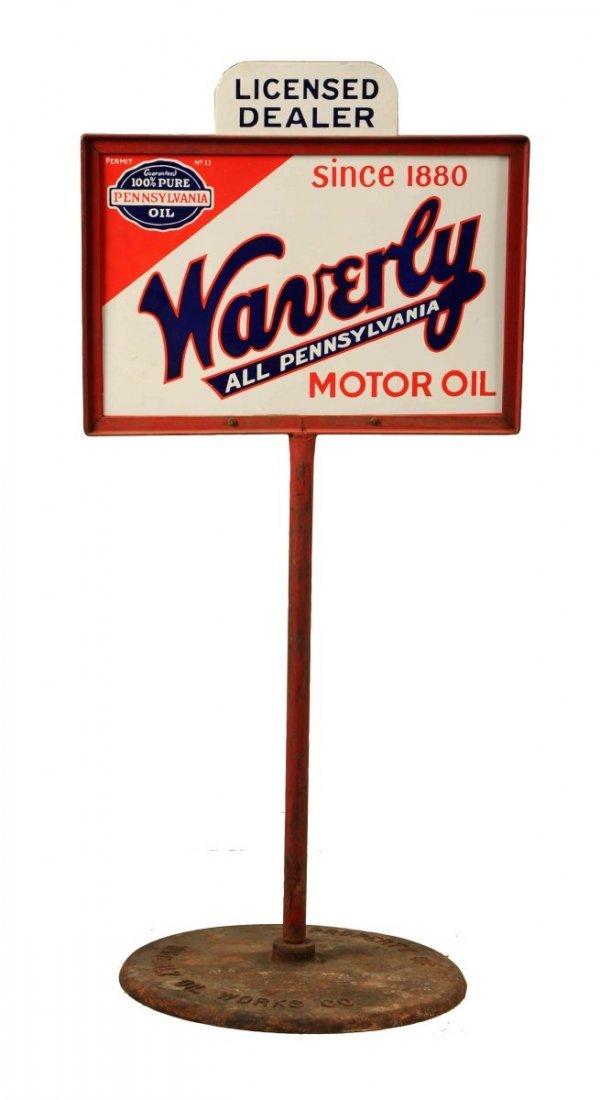 Waverly All Pennsylvania Motor Oil Sign.