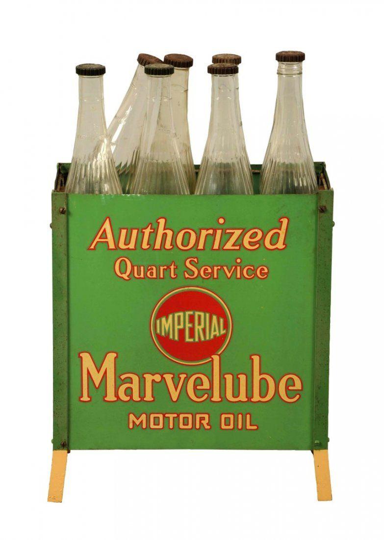 Imperial Marvelube Motor Oil Bottle Rack.