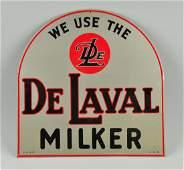 De Laval Milker Tin Sign.