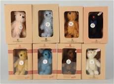 Lot Of 8: Steiff Club Gift Bears.