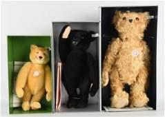 Lot Of 3 Steiff Teddy Bears