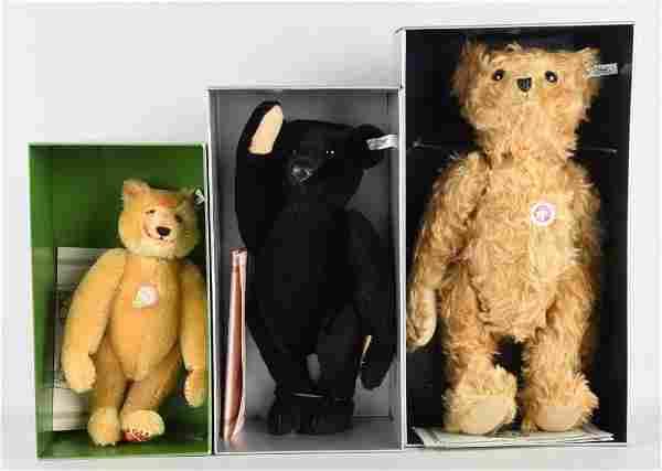 Lot Of 3: Steiff Teddy Bears.