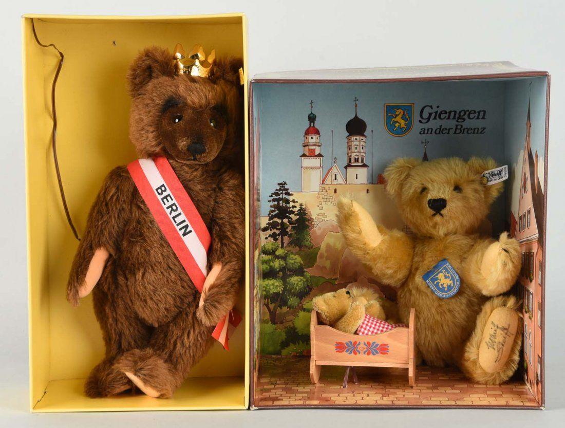 Lot Of 2: Steiff Teddy Bears.