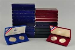 21 Modern Commemorative Sets.