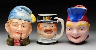 Lot of 3 Porcelain Pieces