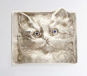 A Sterling Silver Box.