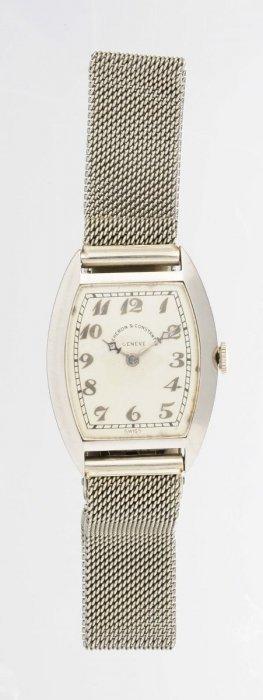A Lady's Bracelet Watch, Vacheron & Constantin.