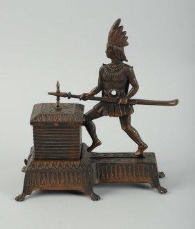 Indian Figural Cigar Cutter