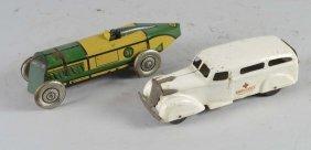 Lot Of 2: Metal Vehicle Toys