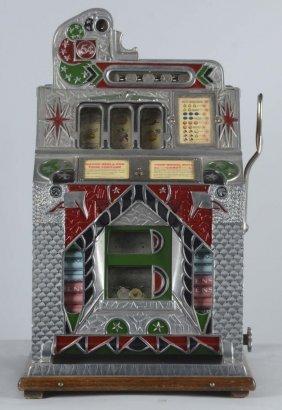 5¢ Mills Silent Jackpot Front Vendor Slot Machine