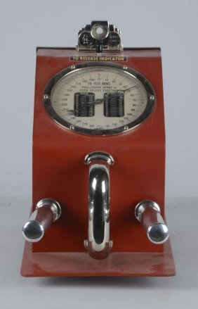 1¢ Gottlieb Grip Tester Arcade Amusement Machine